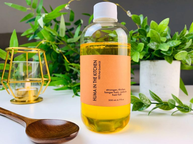 Huma's Organic Handcrafted Hair Growth Oil